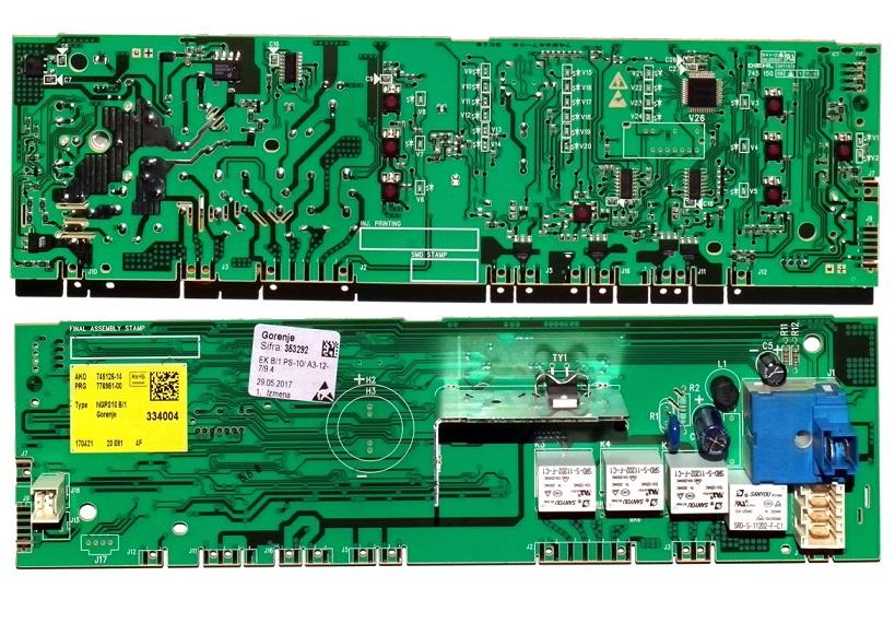 Электронный модуль управления Стиральной Машины GORENJE 353292