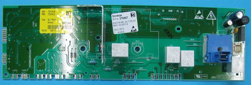 Электронный модуль управления Стиральной Машины GORENJE 276867