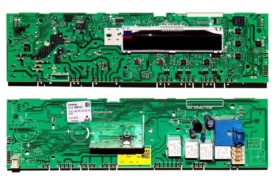 Электронный модуль управления Стиральной Машины GORENJE 499121
