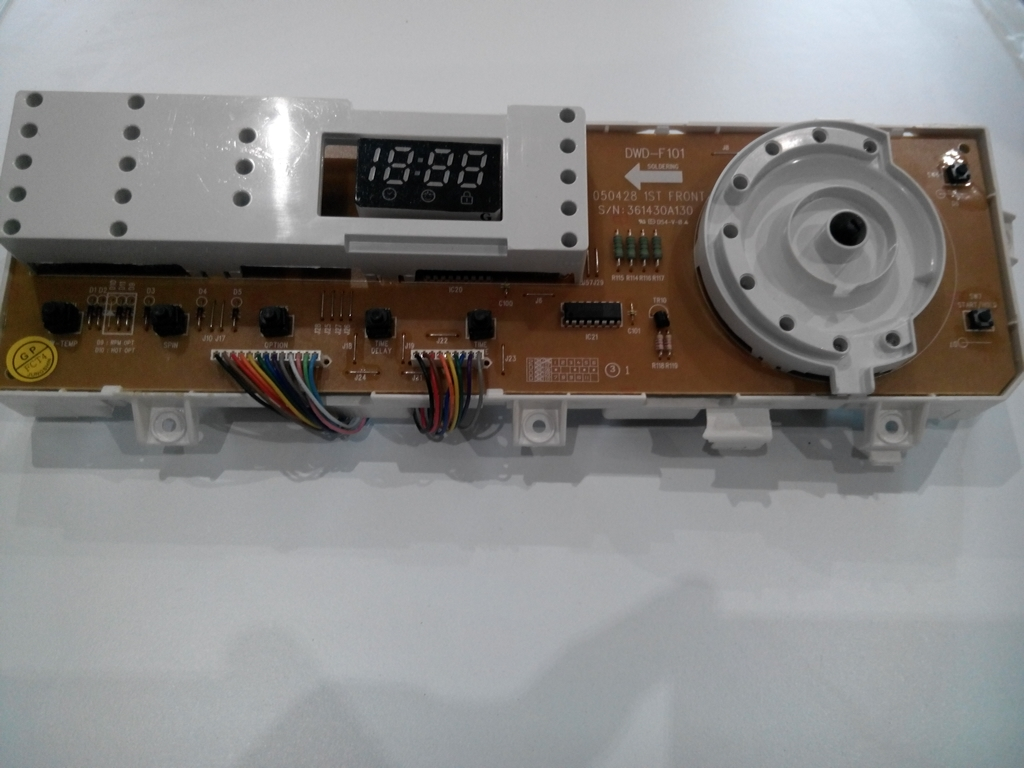 Электронный модуль управления Стиральной Машины DAEWOO DWD F101--F102