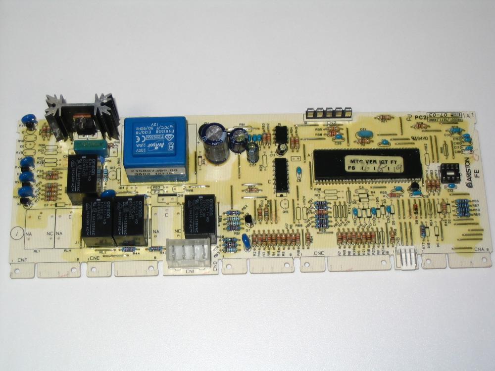Электронный модуль управления Стиральной Машины ARISTON-INDESIT C00080668 ( EVO-1 )