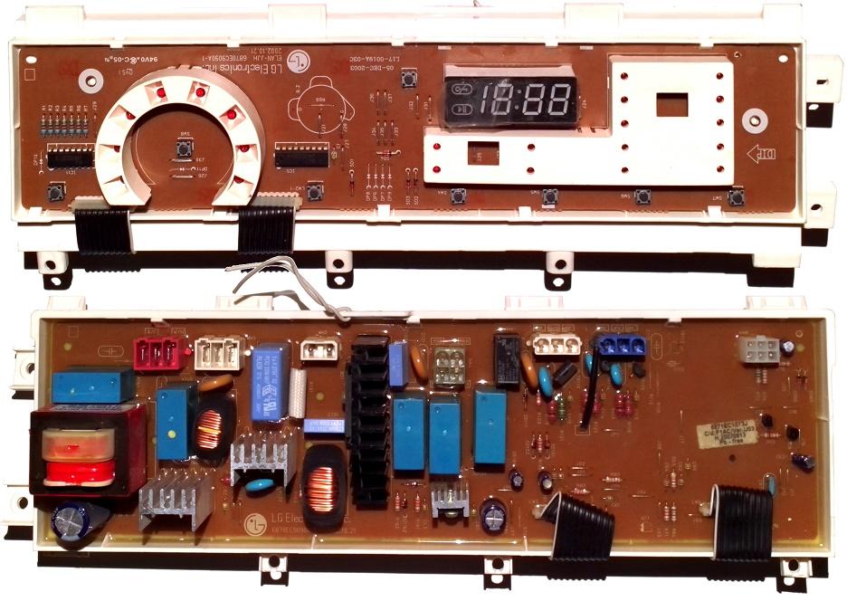 Электронный модуль управления Стиральной Машины LG 6871EC1073J