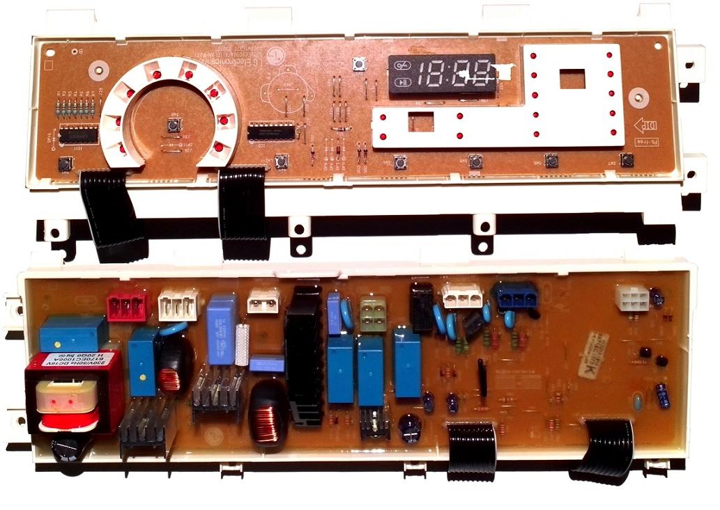 Электронный модуль управления Стиральной Машины LG 6871EC1073K