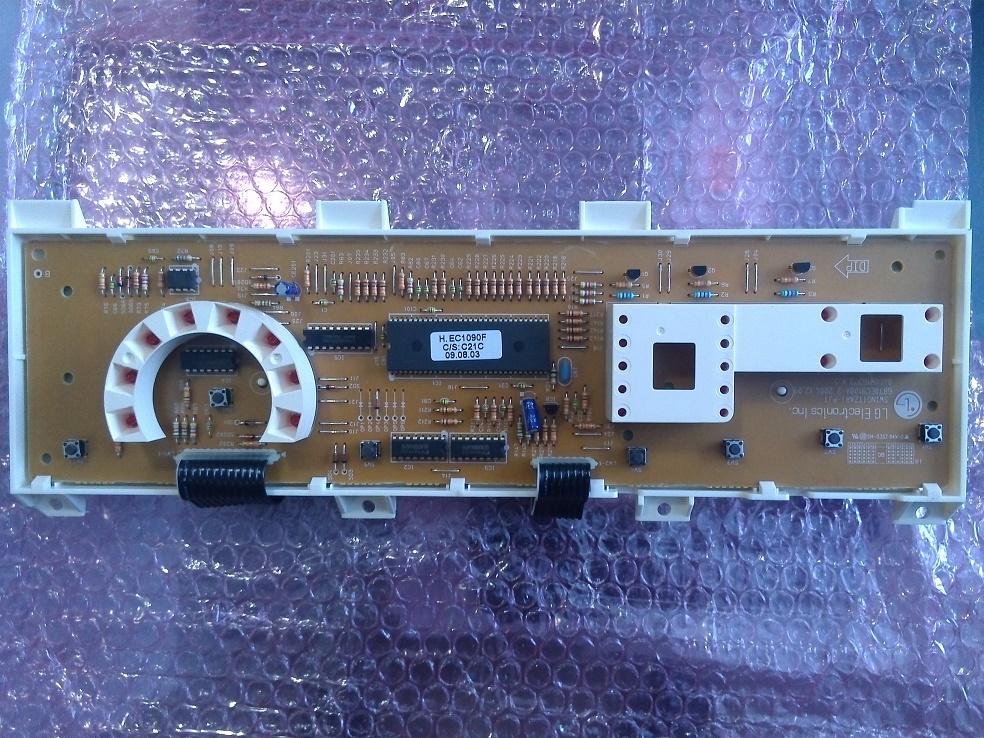 Электронный модуль управления Стиральной Машины LG 6871EC1090F