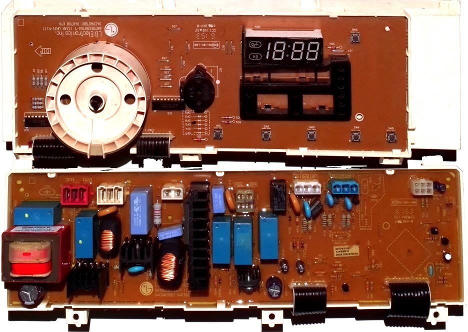 Электронный модуль управления Стиральной Машины LG 6871EN1010B
