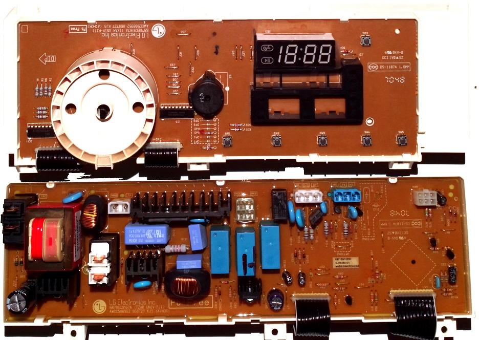 Электронный модуль управления Стиральной Машины LG 6871EN1039H