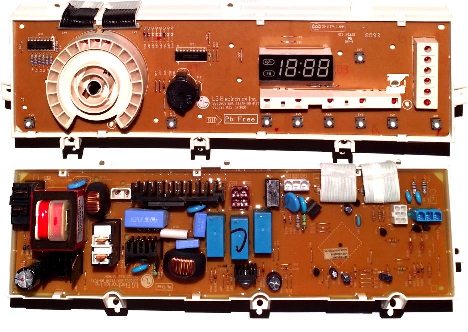 Электронный модуль управления Стиральной Машины LG 6871EN1040C