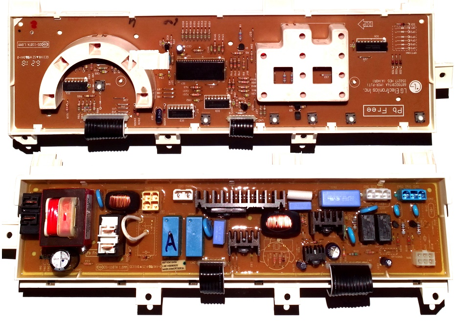 Электронный модуль управления Стиральной Машины LG 6871EN1043A