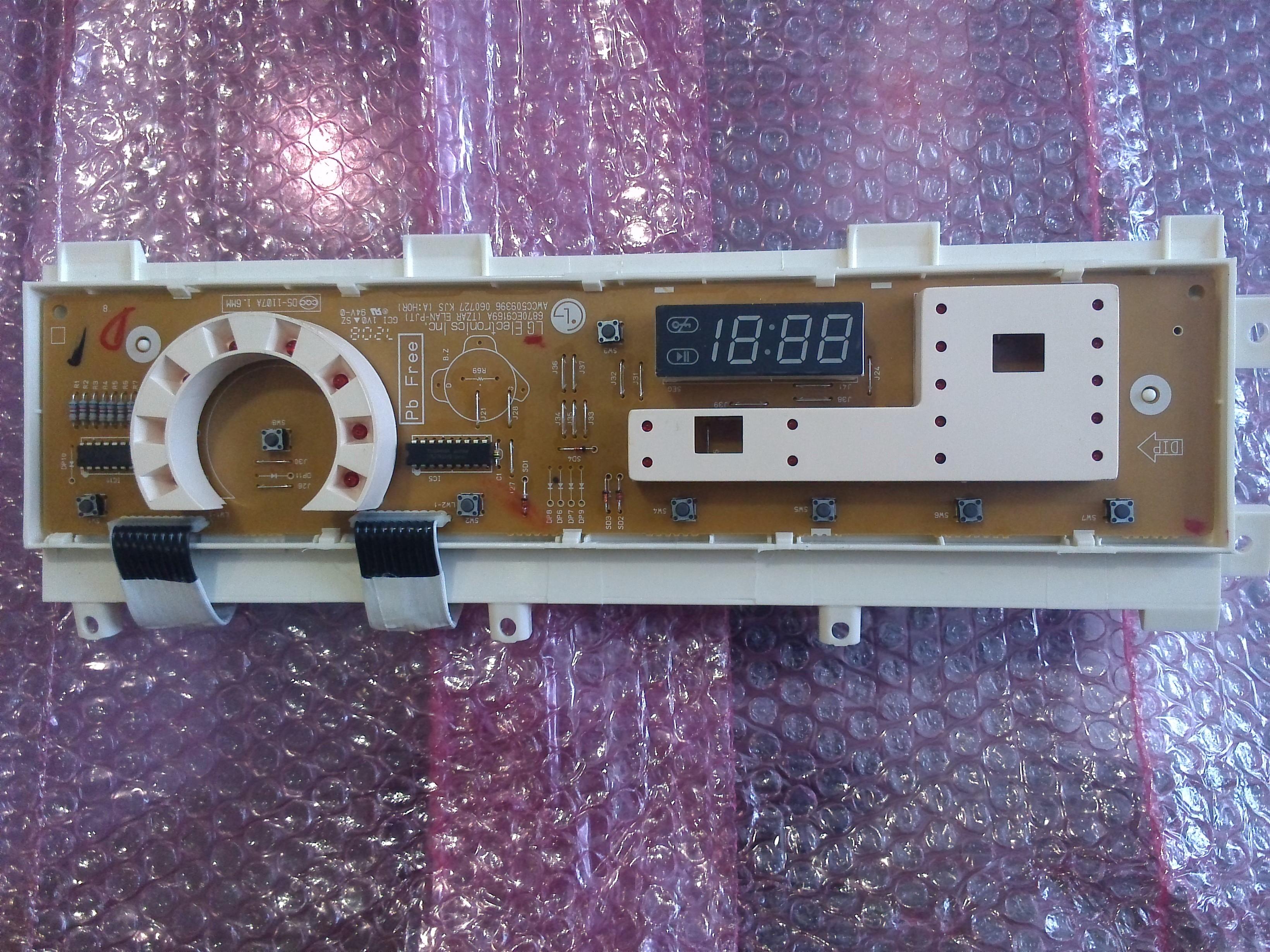 Электронный модуль управления Стиральной Машины LG 6871EN1044A