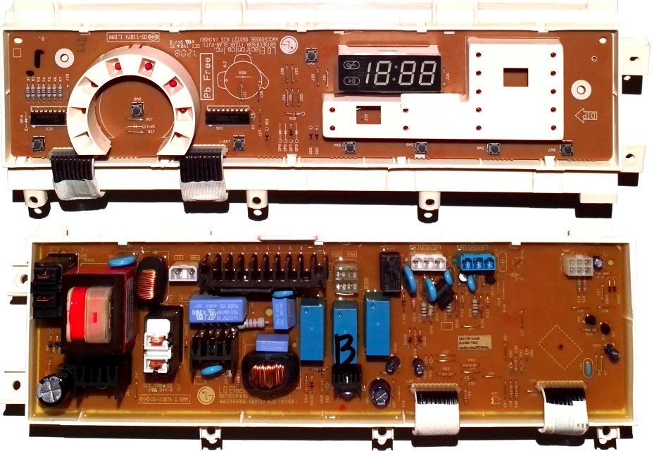 Электронный модуль управления Стиральной Машины LG 6871EN1044B