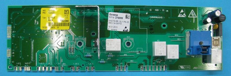 Электронный модуль управления Стиральной Машины GORENJE 276899