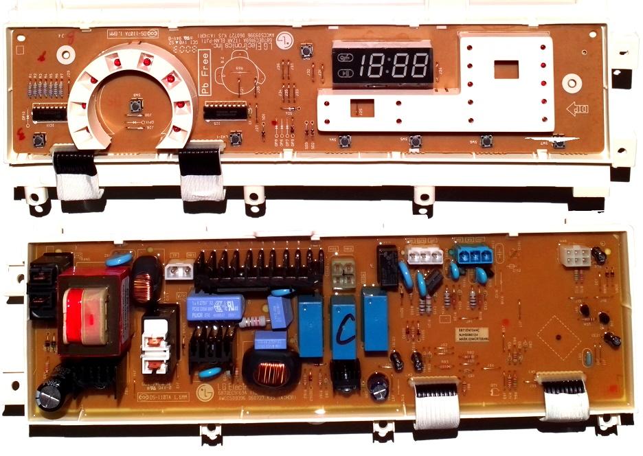 Электронный модуль управления Стиральной Машины LG 6871EN1044C