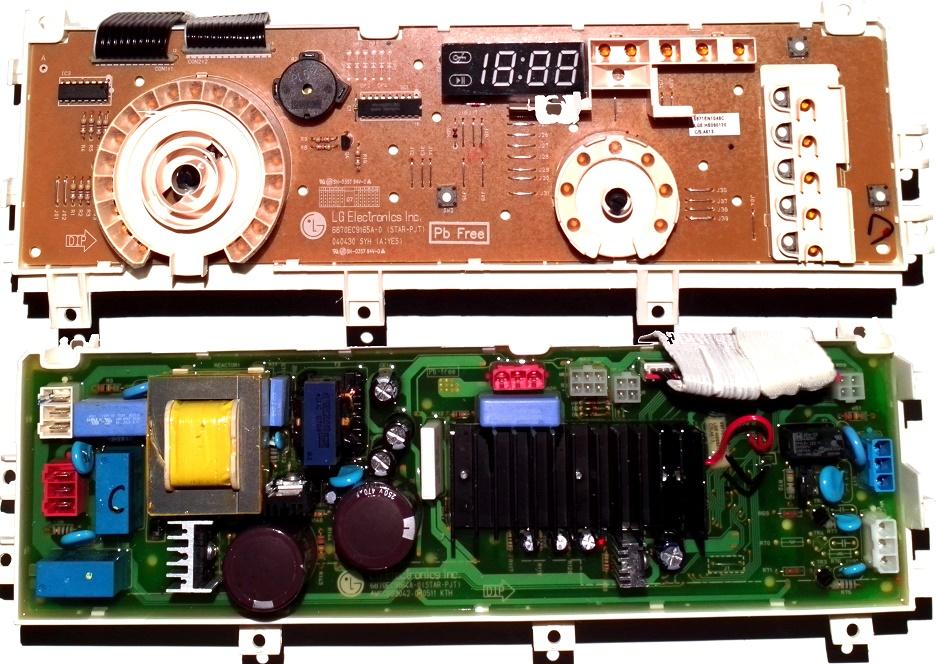 Электронный модуль управления Стиральной Машины LG 6871EN1048C