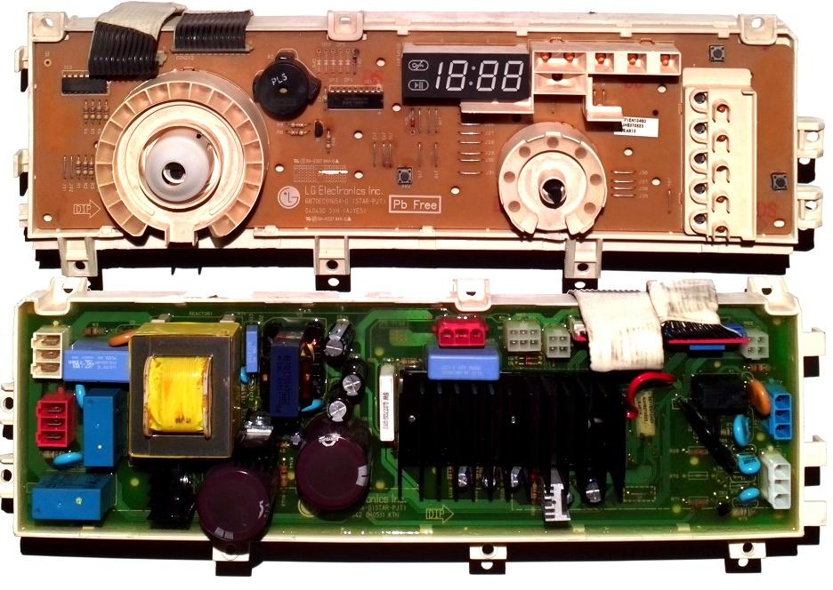 Электронный модуль управления Стиральной Машины LG 6871EN1048D