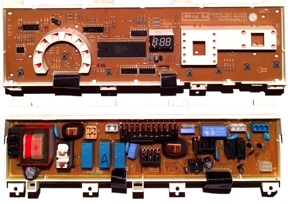 Электронный модуль управления Стиральной Машины LG 6871EN1050A