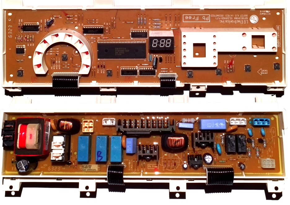 Электронный модуль управления Стиральной Машины LG 6871EN1050B