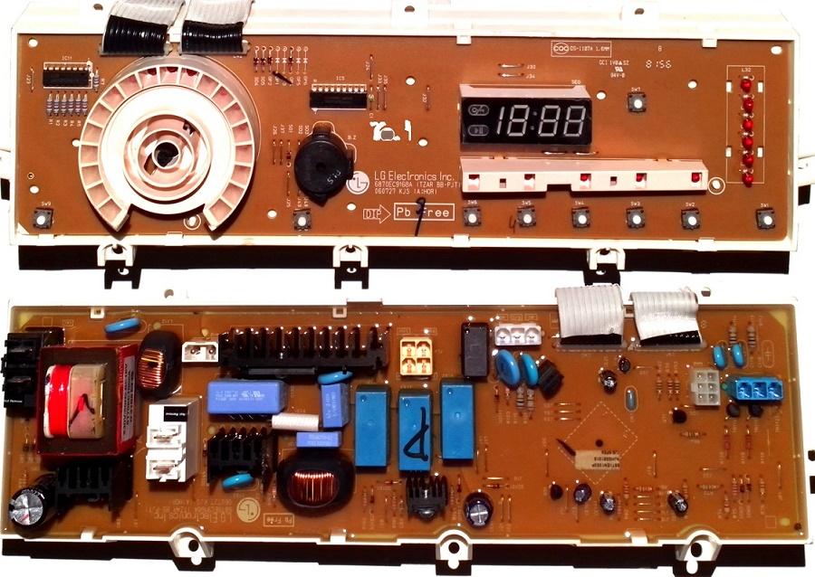 Электронный модуль управления Стиральной Машины LG 6871EN1053P