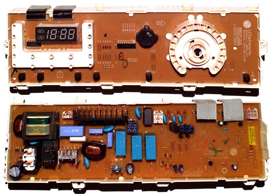 Электронный модуль управления Стиральной Машины LG 6871EN1057V