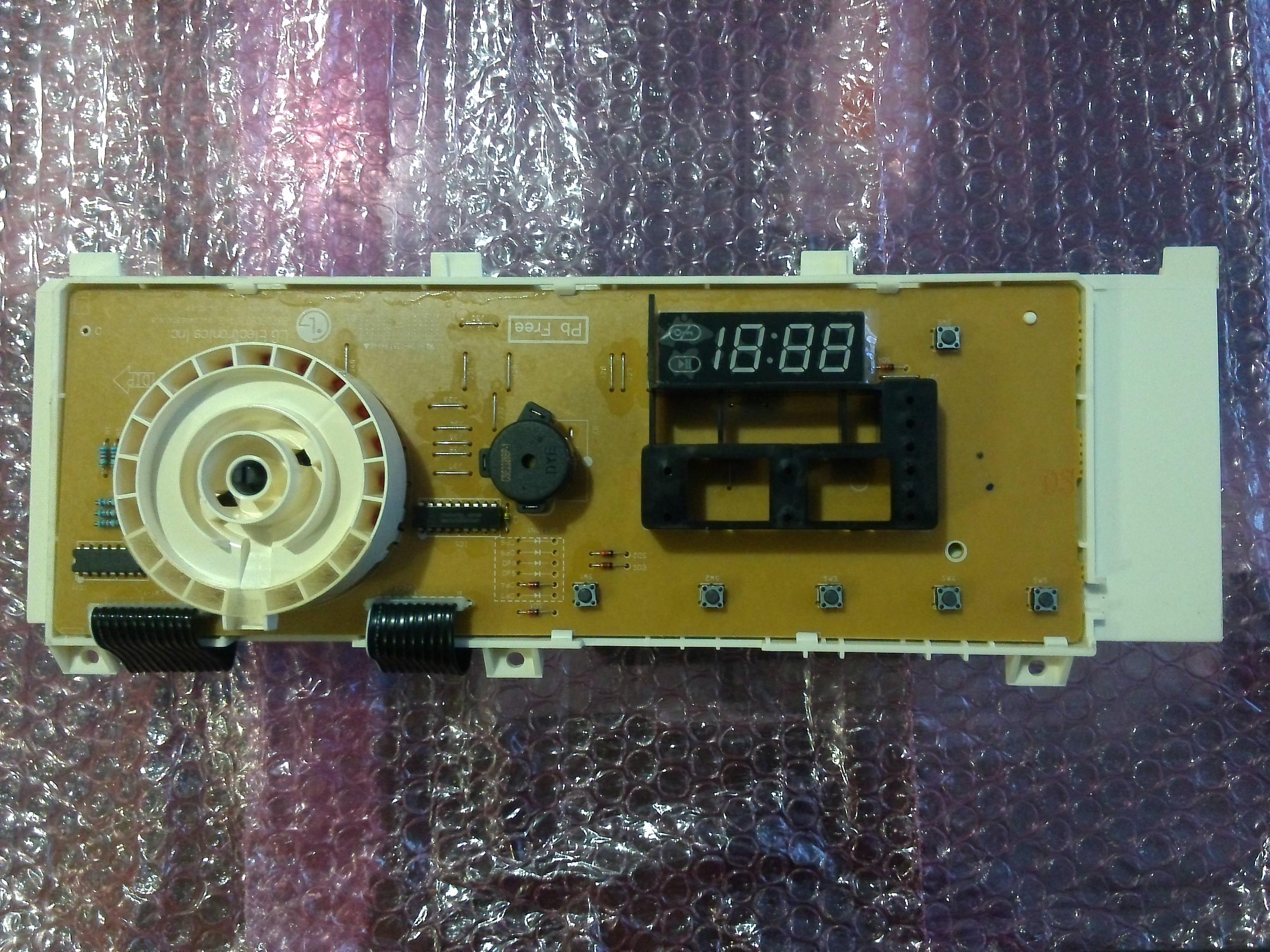Электронный модуль управления Стиральной Машины LG 6871ER1021D
