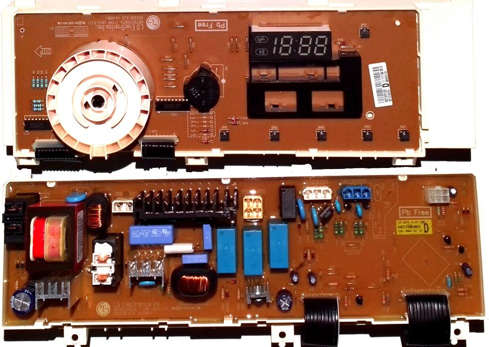 Электронный модуль управления Стиральной Машины LG 6871ER1031D