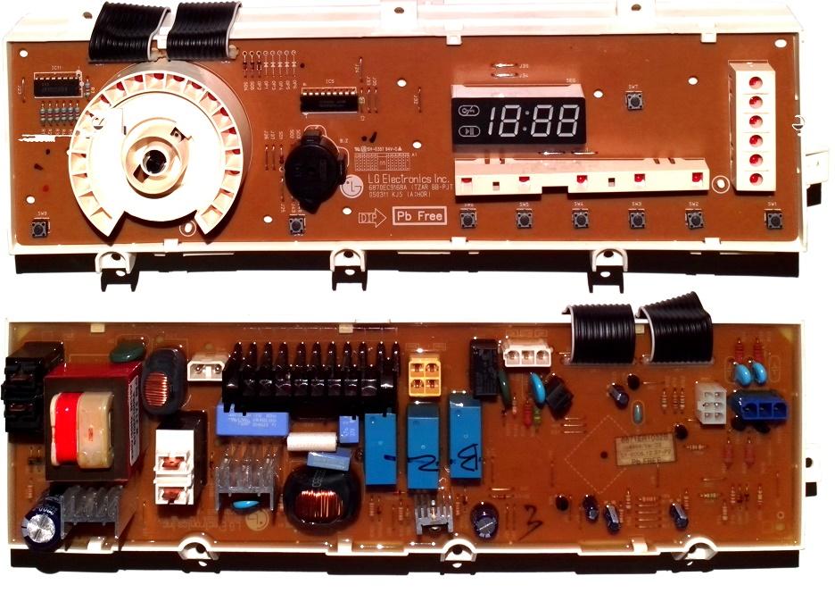 Электронный модуль управления Стиральной Машины LG 6871ER1032B