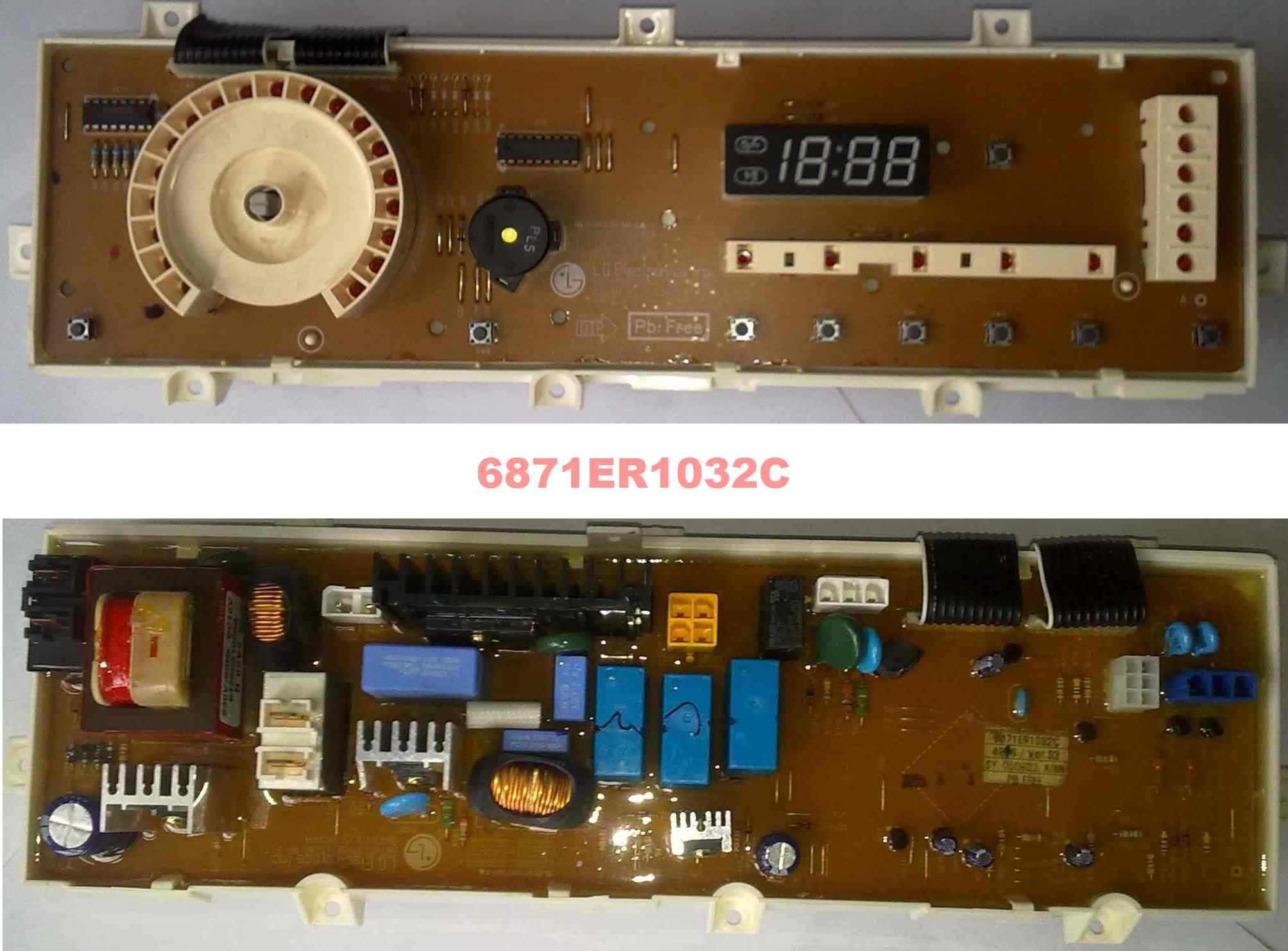 Электронный модуль управления Стиральной Машины LG 6871ER1032C