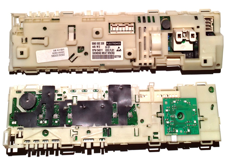 Электронный модуль управления Стиральной Машины BOSCH-SIEMENS 00480831