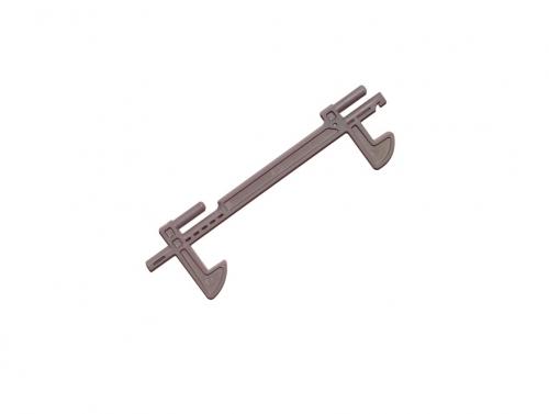 Крючок-защелка дверцы Микроволновой Печи PANASONIC F30186P40CP ORIGINAL