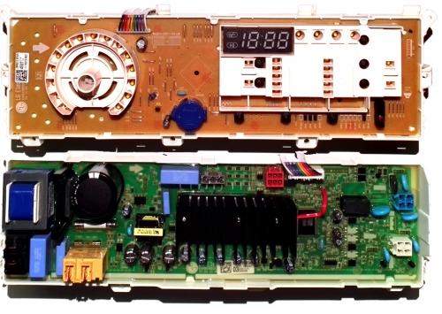 Электронный модуль управления Стиральной Машины LG EBR79583403+EBR80154527