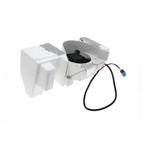 Мотор вентилятора Холодильника ARISTON-INDESIT C00293316 ( NMB 3612JL-04W-S40, DC 12V / 0.23 A)