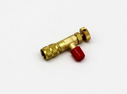 Вентиль сервисный для заправки Кондиционера 1019155 ( 1/4х5/16, R410 )