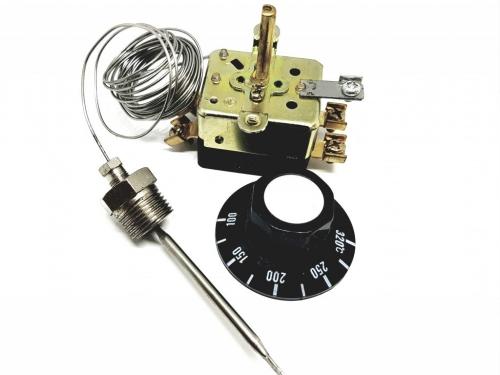 Регулятор температуры ( термостат ) Духовки T-32M-04 ( 100-300°C )