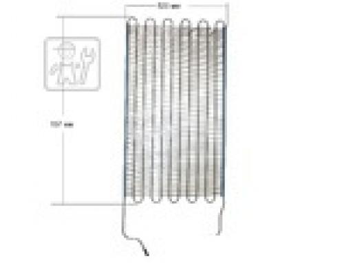 Конденсатор ( Теплообменник ) Холодильника ATLANT 341775103171 ( 1000x520 mm. )