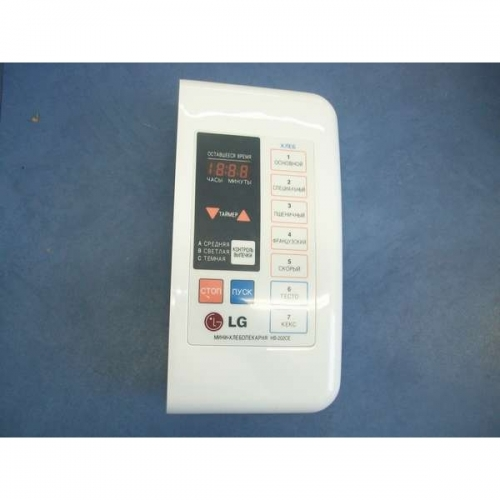 Панель управления Хлебопечи LG 4781FB2097B