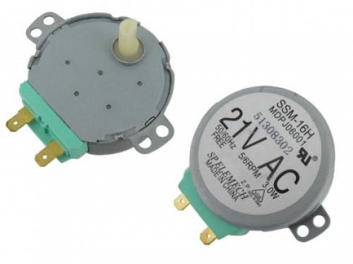 Мотор привода тарелки СВЧ-печи SAMSUNG DE31-10154D ( 21V, SSM-16H MDPJ06001 )