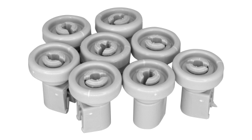 Ролики корзины Посудомоечной Машины AEG-ELECTROLUX-ZANUSSI 50286967000 ( 8 шт ) ORIGINAL