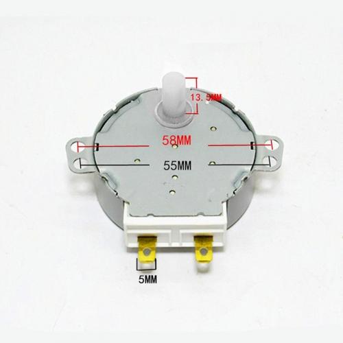 Мотор привода тарелки СВЧ-печи GALANZ SS-5-240-TD ( 220V 4W, 5-6 r/min )