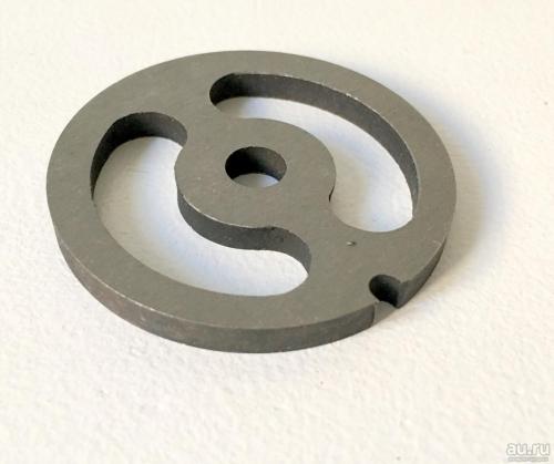 Решётка Мясорубки Помощница O 54mm d=8mm h=3mm ( для колбасы )